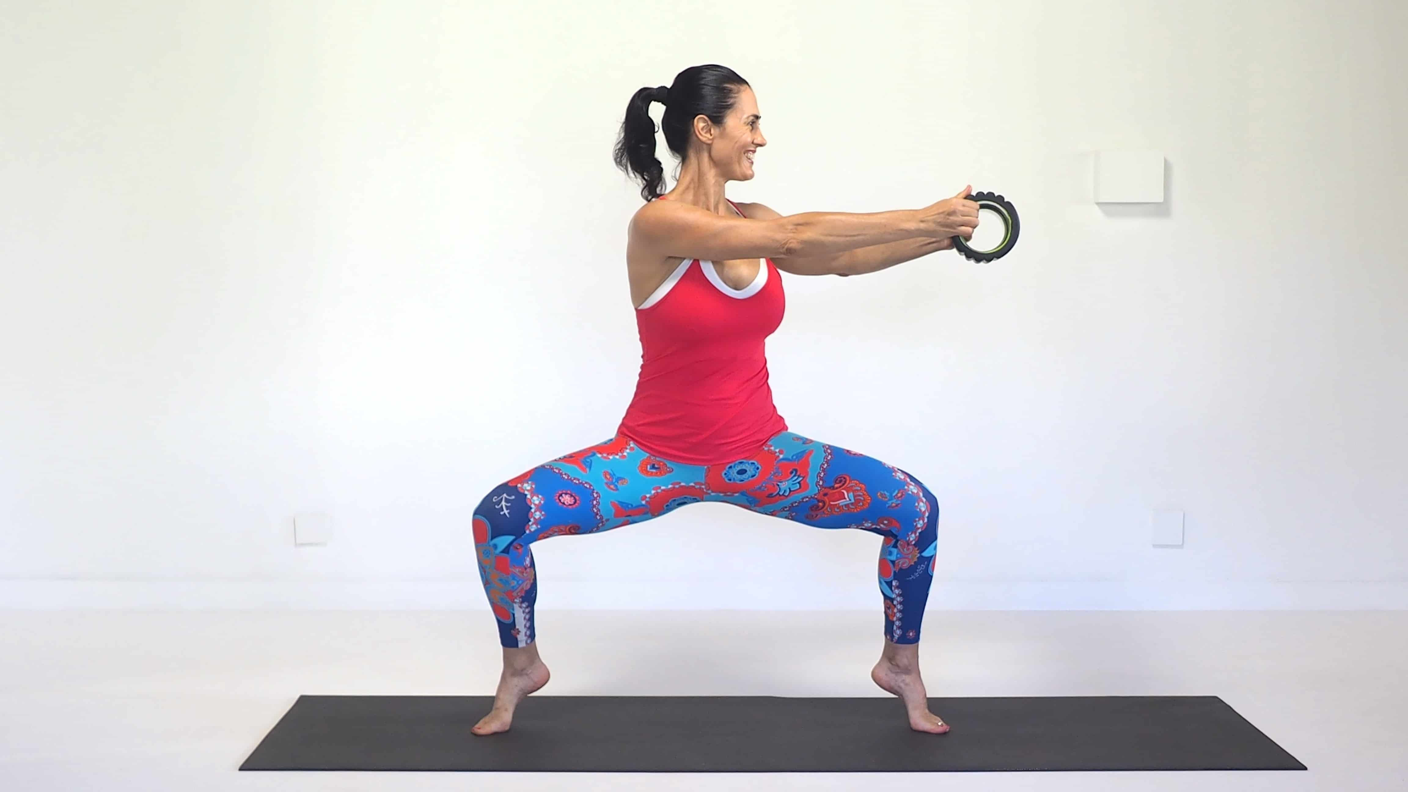 Roller twist to keep flexible during menopause