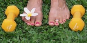 training barefoot
