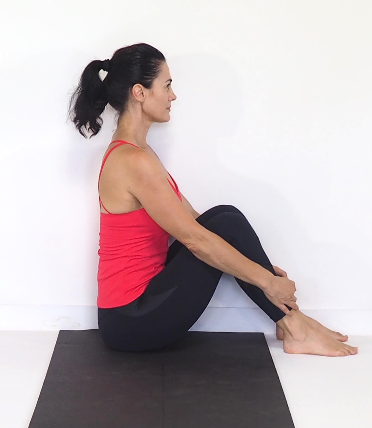 Achy legs and feet? Starting position